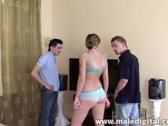 Amateur Bareback Bisex Cream Pie #08, Scene #01