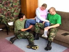 Bi Military Sexpots, Scene #01