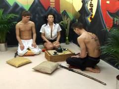 Amateur Bareback Bisex Warriors, Scene #03